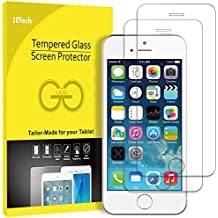 JETech 2-Unidades iPhone SE 5s 5c 5 Vidrio Templado Protector de Pantalla de Cristal Templado Superior de Película - 0314
