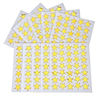 eBoot Golden Stern Aufkleber 1 750 Stück Selbstklebend Aufkleber Sterne