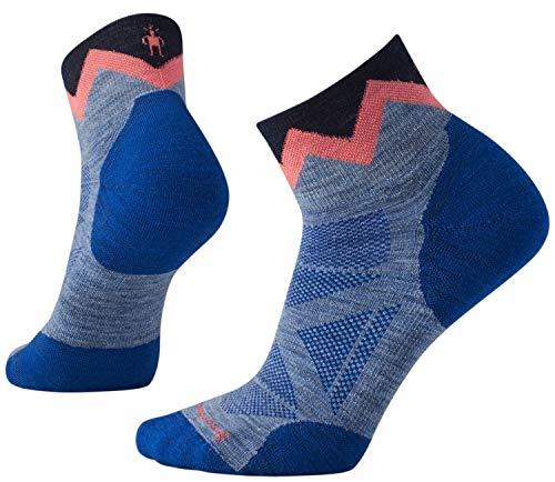 Womens Phd Outdoor Light (Smartwool Women's PhD Pro Approach Light Elite Mini Socken, Farbe:blue steel, Größe:Gr. L)