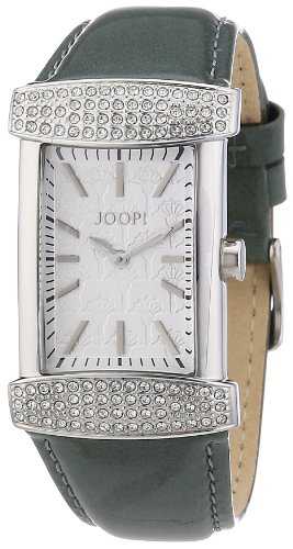 Joop Women's Quartz Watch with Silver Glam Analogue Quartz Leather JP100552 °F08