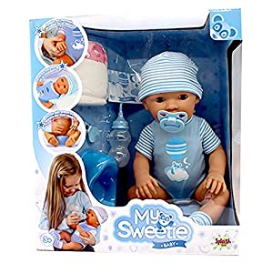 Splash Toys My Sweetie Baby 30902 - Figura Decorativa para bebé, Color Azul