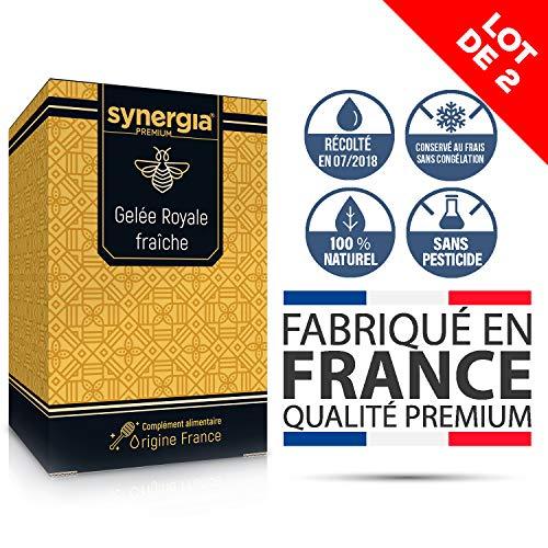 Natürliche Gelée royale Frische Pure ★ 100% französische Zertifizierung.