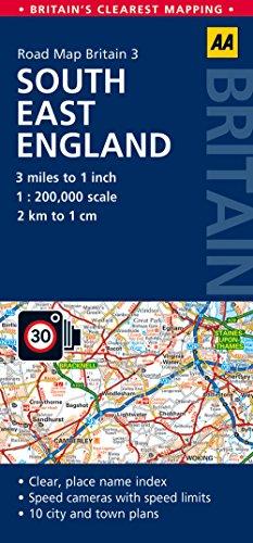 Map of England Amazoncouk