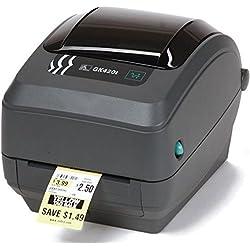Zebra GK42-202520-000 - Impresora de etiquetas (térmica directa, 203 x 203 dpi, 127 mm/seg, alámbrico, 8 MB, 4 MB)