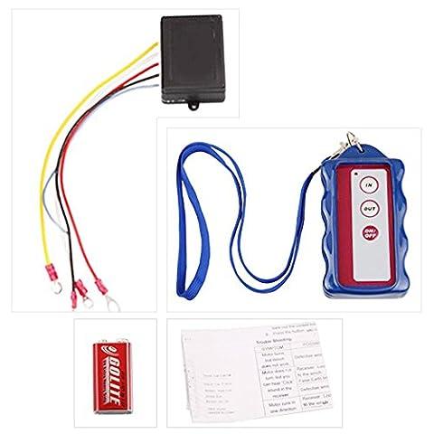 Shsyue®12V Winch Wireless Fernbedienung Kit für LKW Jeep ATV Auto LKW Schnurlos