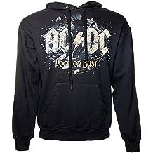 AC/DC Rock Or Bust Hoodie (Black)
