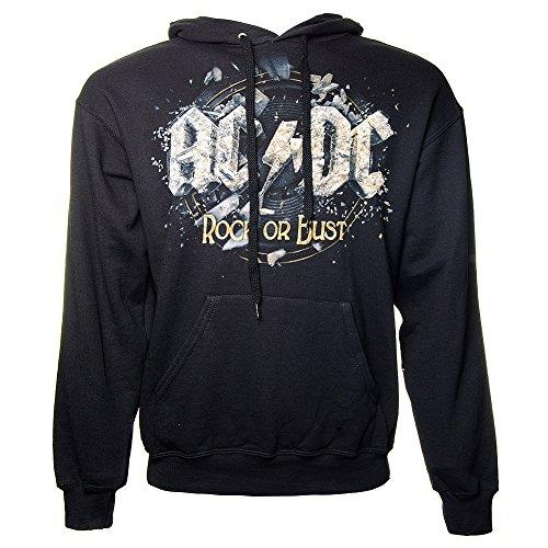AC/DC Rock Or Bust Felpa con cappuccio nero S