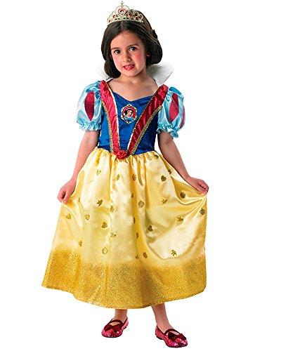 Rubie's 3 880033 S - Snow White Glitter Kostüm, Größe (Disney Für Kostüme Schneewittchen Erwachsene)