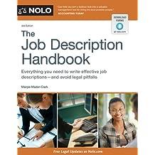 Job Description Handbook, The (English Edition)