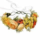 AdorabFitting garland guirnalda Flores Circulo Junto al mar europeo y americano fotografía de la boda de la cinta de laplaya