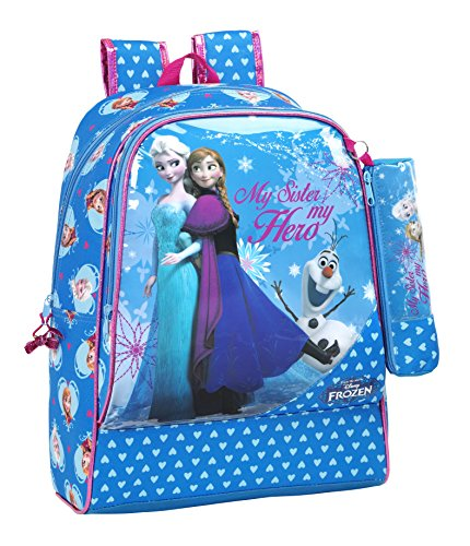 Safta Follow Your Heart Day Pack Adaptable a Carro, Color Azul