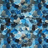 Fabulous Fabrics Blusenstoff Crèpe Digitaldruck Aquarell