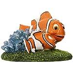 "Penn-Plax Finding Nemo and Marlin Aquairum Ornament 4"" 7"