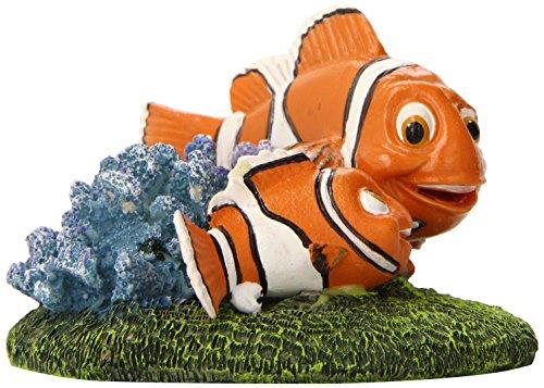 "Penn-Plax Finding Nemo and Marlin Aquairum Ornament 4"" 2"