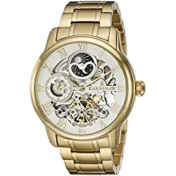 Thomas Earnshaw Men's ES-8006-22 Longitude Analog-Display Automatic Self-Wind Gold-Tone Watch
