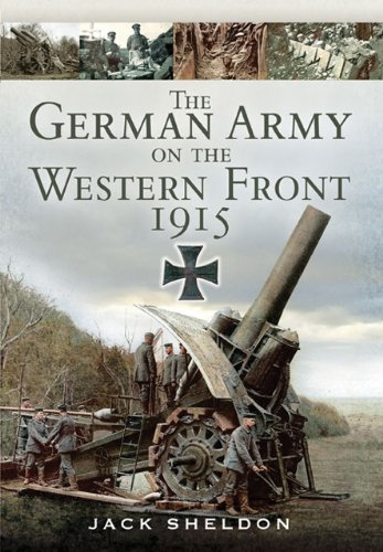 The German Army on the Western Front 1915 Cover Image