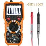 Multímetro Digital Janisa PM18 Profesional AC DC Amperímetro Voltímetro Ohmímetro Autorango sin Contacto para Medida Batería Automática Corriente Tens