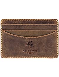 Visconti Oil Brown Men's Wallet