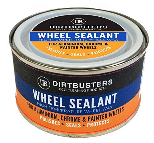 Ultra Gloss Wax (Dirtbusters Radwachs, Versiegelungsmittel, hohe Temperatur, Synthetikwachs für Alufelgen, ultimative Schutz und Glanz, 150g)