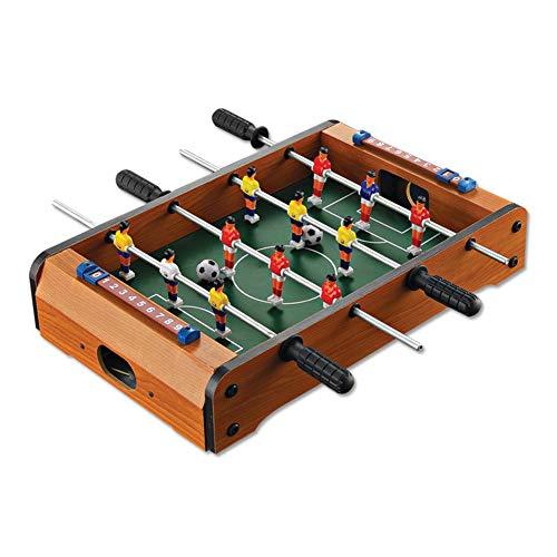 EisEyen Tischkicker Holz Kicker Tischfußball Tischspiel Kinder und Erwachsene