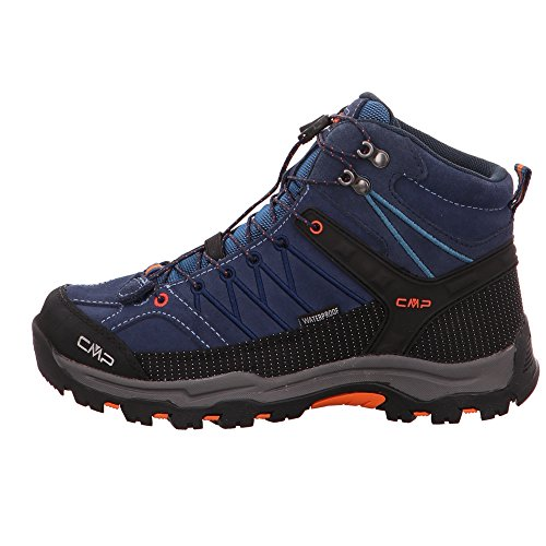 CMP Campagnolo Rigel Mid Wp, Chaussures de Randonnée Hautes Mixte Adulte Turquoise (Artico-chili)