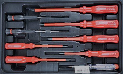 Mannesmann – M29065 – Assortimento di attrezzi per uso domestico in valigetta richiudibile - 4