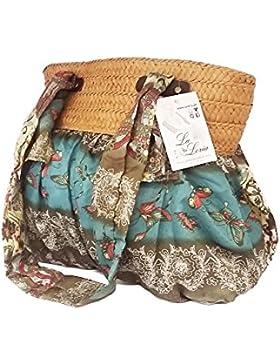 La Loria bunte Handtasche