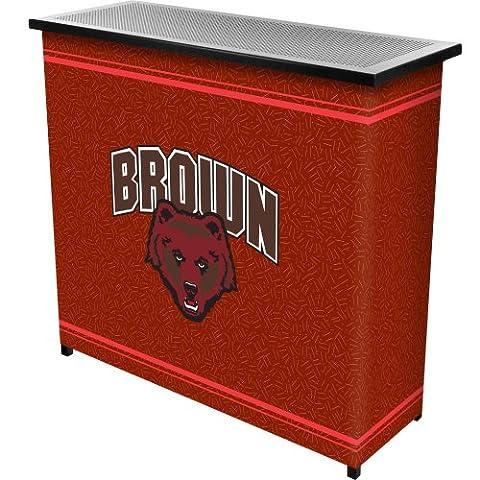 Brown UniversityT 2 Shelf Portable Bar w/