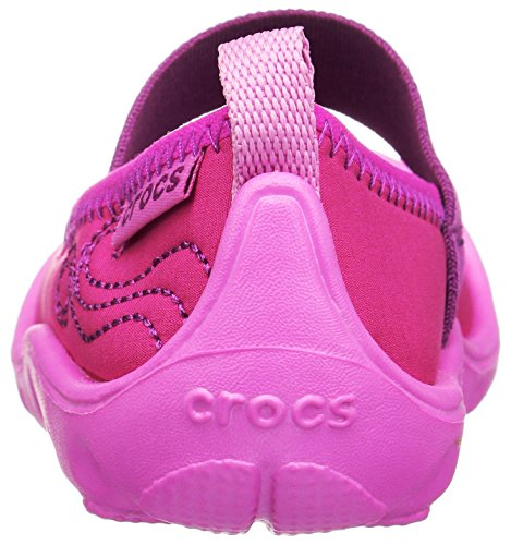 Crocs Duet Busy Day Ps, Mary Jane Fille Candy Pink/Party Pink