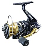 Shimano Nasci 4000 XGFB, Spinning Angelrolle mit Frontbremse, NAS4000XGFB