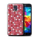 Stuff4 Hülle / Hülle für Samsung Galaxy S5 Neo/G903 / Rot Muster / Bad Fliesen Kollektion
