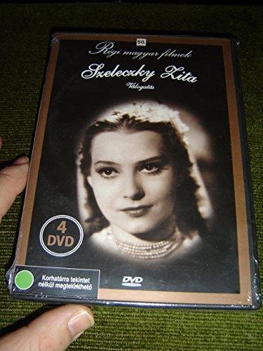 Regi Magyar Filmek: Szeleczky Zita V?logat?s (Szi?mi Macska / ?ll A B?l / Karossz?k / R?zsafabot) [DVD Region 2 PAL] Audio: Hungarian / Subtitles: None / 4 Discs / Black and White