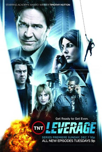postersdepeliculas Leverage (TV) 11x 17TV Poster-Style B Unframed