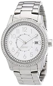 Esprit Damen-Armbanduhr 304 STAINLESS STEEL Analog Quarz Edelstahl A.ES105432004