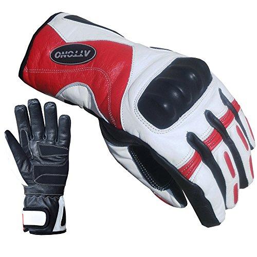 ATTONO Skihandschuhe Leder Ski Racing Handschuhe wasserdicht - Größe XL -