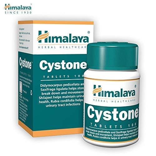 HIMALAYA herbals Cystone Natürliche Nierenunterstützung Harnwegsinfektion Behandlung Glutenfreie Tabletten, 100 Stücken