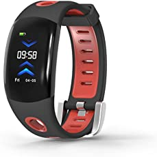 Fuibo Smartwatch, DM11 Blutdruck und Herzfrequenz-Überwachung Call Reminder Sports Smart Watch Armbanduhr Sport Fitness Tracker Armband