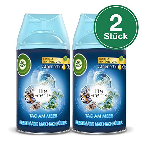 Air Wick Freshmatic Max Automatisches Duftspray Nachfüller, Tag am Meer, 2er Pack (2 x 250 ml)