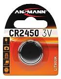 ANSMANN 5020112 Knofpzelle Batterie Lithium CR2450 - 3V
