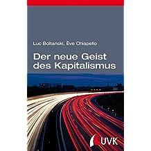 Der neue Geist des Kapitalismus (édition discours)