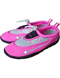 TWF Beach/ Swimming/ Aqua Shoes. Child & Adult Pink Shoes.
