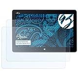 Bruni Schutzfolie für Fujitsu Stylistic R727 Folie - 2 x glasklare Displayschutzfolie