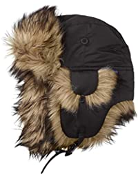 Fjällräven Mütze Nordic Heater - Gorro de esquí para mujer, color negro, talla L
