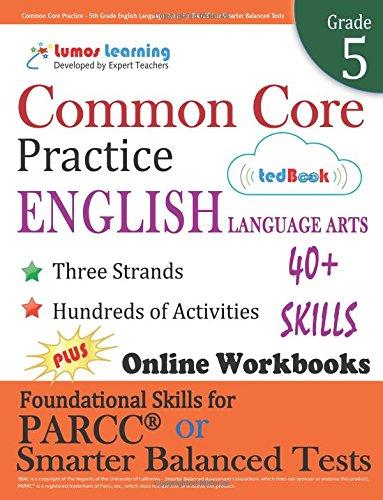 Pdf Download Common Core Practice 5th Grade English Language Arts
