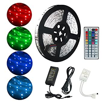 ALED LIGHT Kit de Ruban LED Lumineux 10M 32 8ft 5050 RGB SMD
