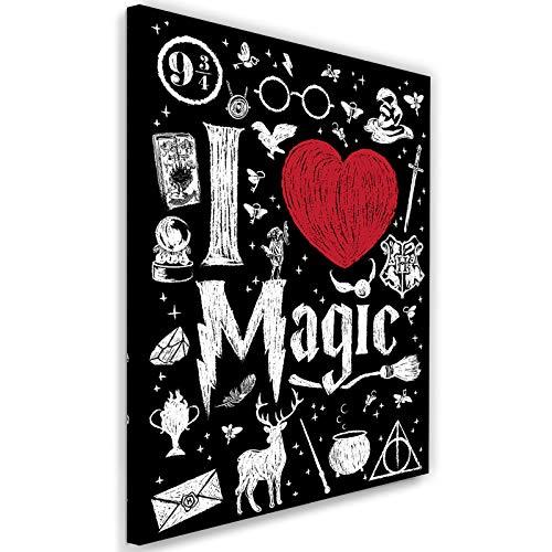 Carowall CAROWALL.COM Cuadros Lienzo I Love Magic