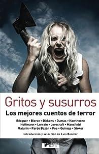Gritos y susurros: Los mejores cuentos de terror par  Varios autores
