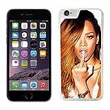 Rihanna Coque pour iPhone 6/6S Coque rigide de protection (16) pour téléphone portable Apple I