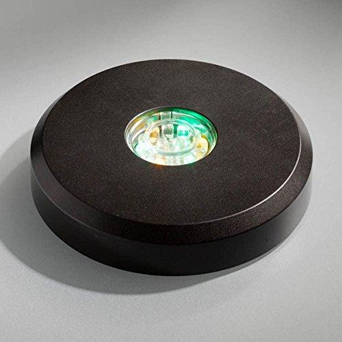 LED Base schwarz - LED-Untersetzer Produktbild