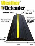 Wetter Defender Heavy Duty 4.4m Garage Door Etage Seal Streifen mit Klebstoff